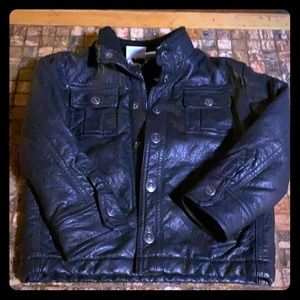 Other - Boys black leather jacket